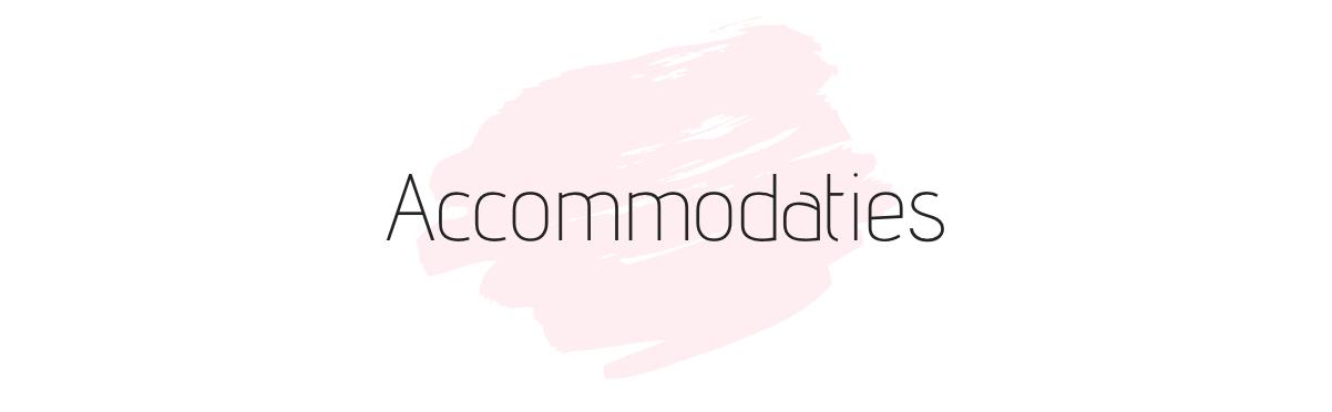 accommodaties